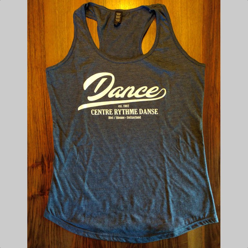 Tank Top Blue-Grey